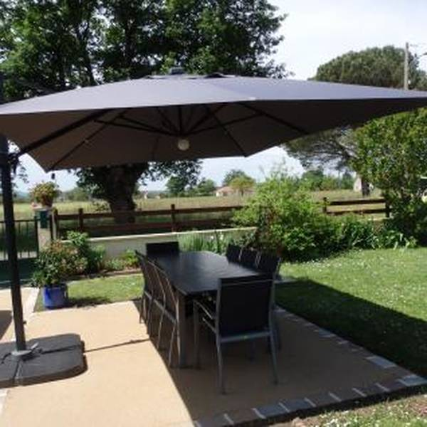 Parasol De Table Inclinable