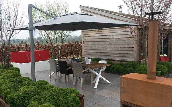 Trouver Parasol Deporte Inclinable 3x4 Auchan | Promotion