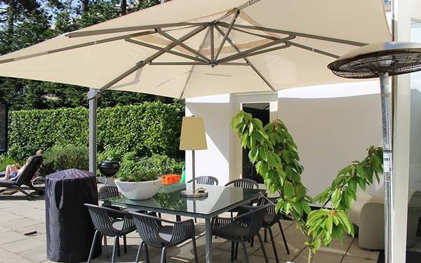 Où trouver Grand Parasol Inclinable Pas Cher | Promo