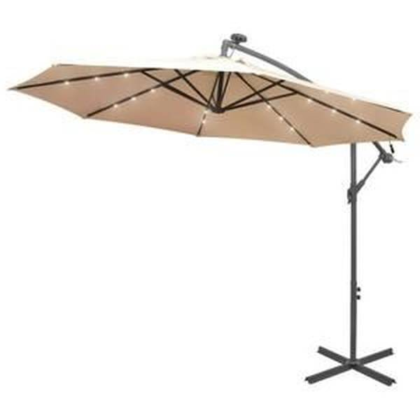 Parasol Deporte Inclinable Blanc