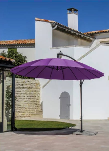 Où trouver Parasol Deporte Inclinable 3x3 Castorama | Comparatif